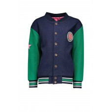 B.Nosy Baseball Jacket Ink Blue Y909-5331