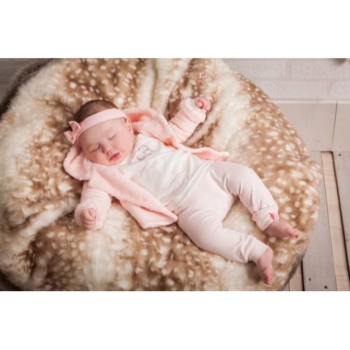 brede selectie prijs op voeten bij Dirkje babykleding 3-delig setje baby meisje 31V-23009