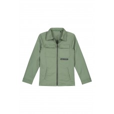 Levv Foster Shirt Jacket Green