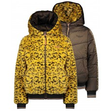 Nono Winterjas  Reversible Warm Mustard N007-5206