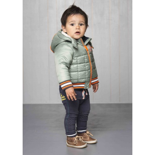 Babykleding Winterjas.Quapi Gordon Winterjas Moss Winter 2017 Baby Jongen