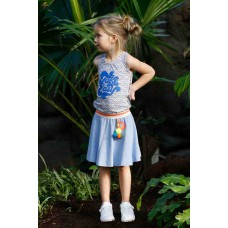 TOPitm Rok Carline blue