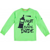 B'Chill Joey Shirt Neon Green