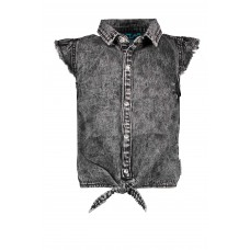 B.Nosy Blouse Black Denim Y002-5110