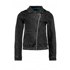 B.Nosy Biker Jack Black Denim Y002-5310