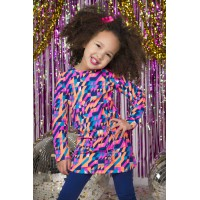 Kidz Art Jurk Triangle K809-5845