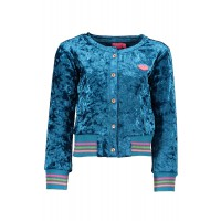 Kidz Art Velvet Vestje Sea Blue K808-5302
