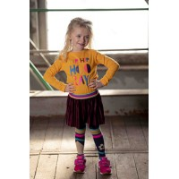 Kidz Art Jurk Yellow K908-5841