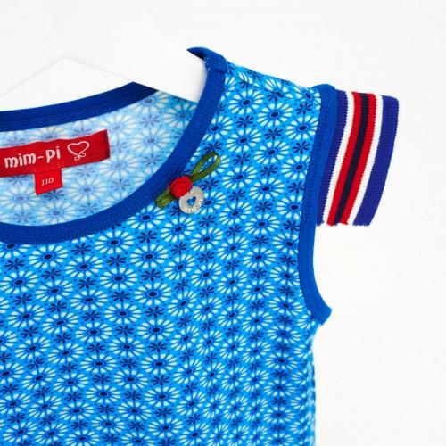 Mim Pi Kinderkleding.Mim Pi Kinderkleding Shirt Korte Mouw Blauw Mim 475 Zomer 2017