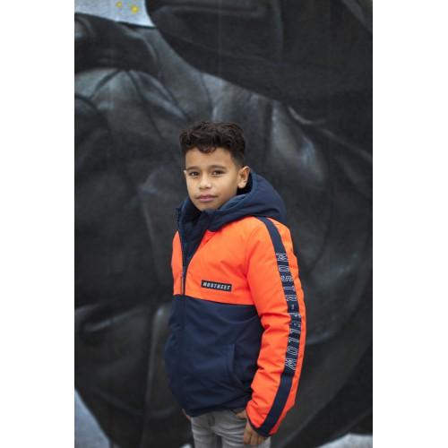 Moodstreet Kinderkleding Winterjas navy jongens