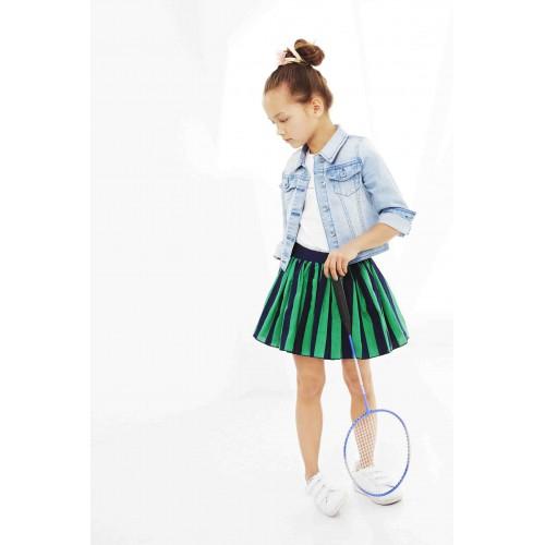 No No Kinderkleding.Nono Kinderkleding Reversible Rok Gestreept Pre Spring 2019 Achteraf