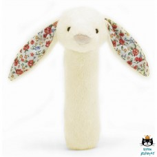 Jellycat: Blossom bashful cream bunny squeaker toy