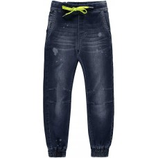Quapi Lucas Broek blue Denim