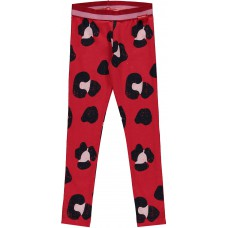 Quapi Shelley Legging Red Leopard