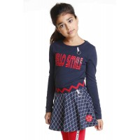 Topitm Rok Sammy Jacquard dark blue